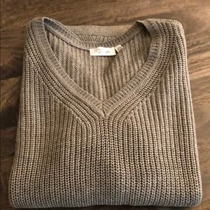 Brown knit tunic sweater. Brand new from StitchFix
